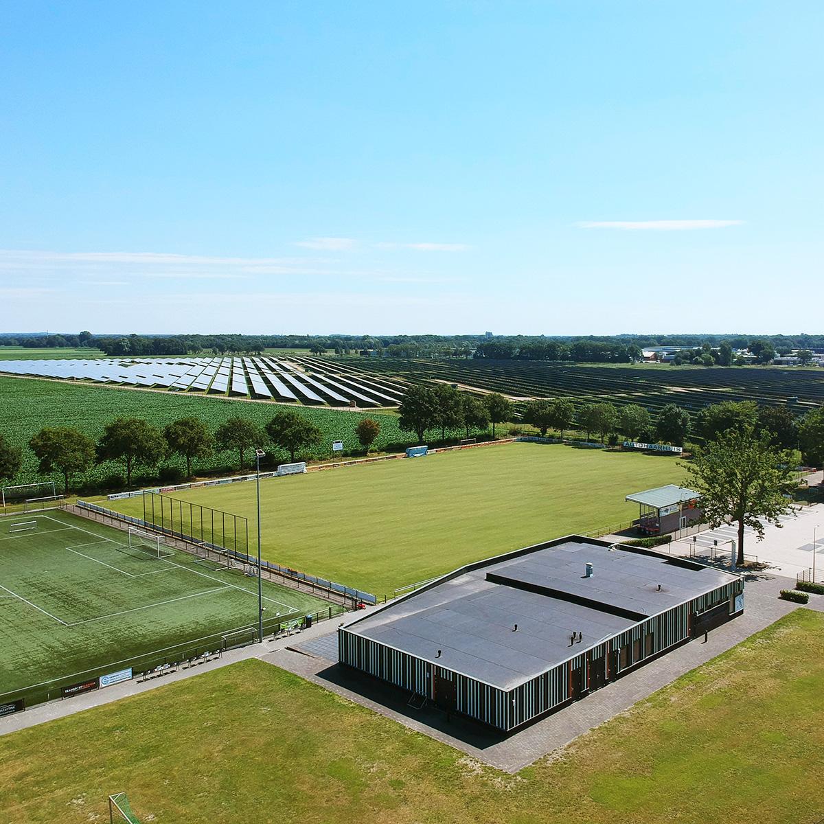 Zonnepark Aadijk Almelo Voetbalclub ASV'57
